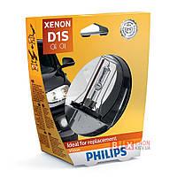 Ксеноновая лампа PHILIPS 85415VIS1 D1S Vision +30%, фото 1