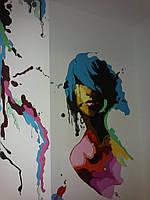 Неповторимая художественная роспись стен