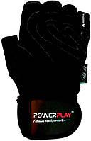 Рукавички для залу PowerPlay 1063 E Чорні, фото 1