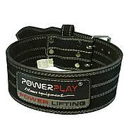 Пояс атлетичний PowerPlay 5150 Чорний [натуральна шкіра] XS