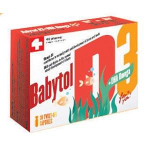 Бебитол D3 капсулы+ омега №30