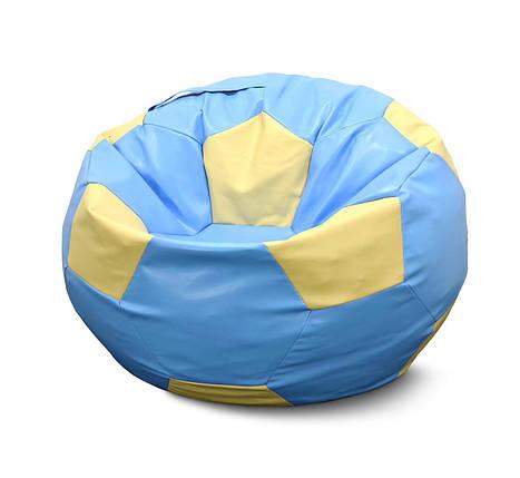 Кресло мешок мяч Экокожа XXXL - 130 см, фото 2