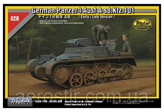 Pz.Kpfw.I Ausf.A (Early/Late Version) 1/35 Tristar 35028