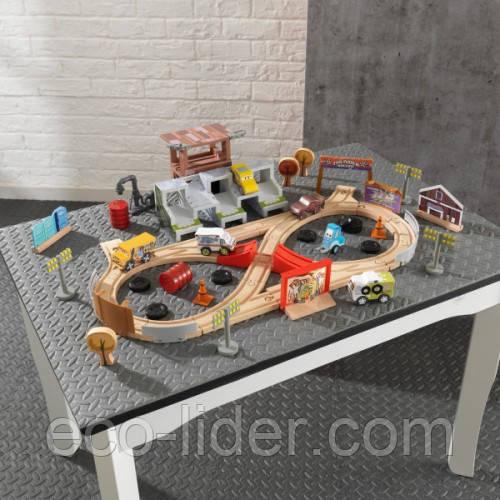 Игрушечная железная дорога Кидкрафт «Disney Pixar Cars 3 Kidkraft» 50 предметов