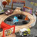 Игрушечная железная дорога Кидкрафт «Disney Pixar Cars 3 Kidkraft» 50 предметов, фото 2