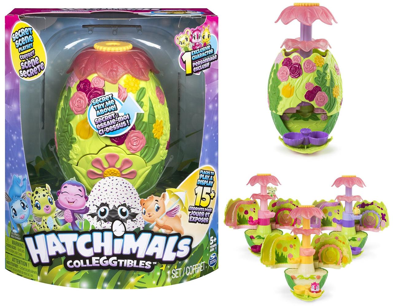 Игровой набор Секретное яйцо, трек Хатчималс, Hatchimals Secret scene, Spin Master из США