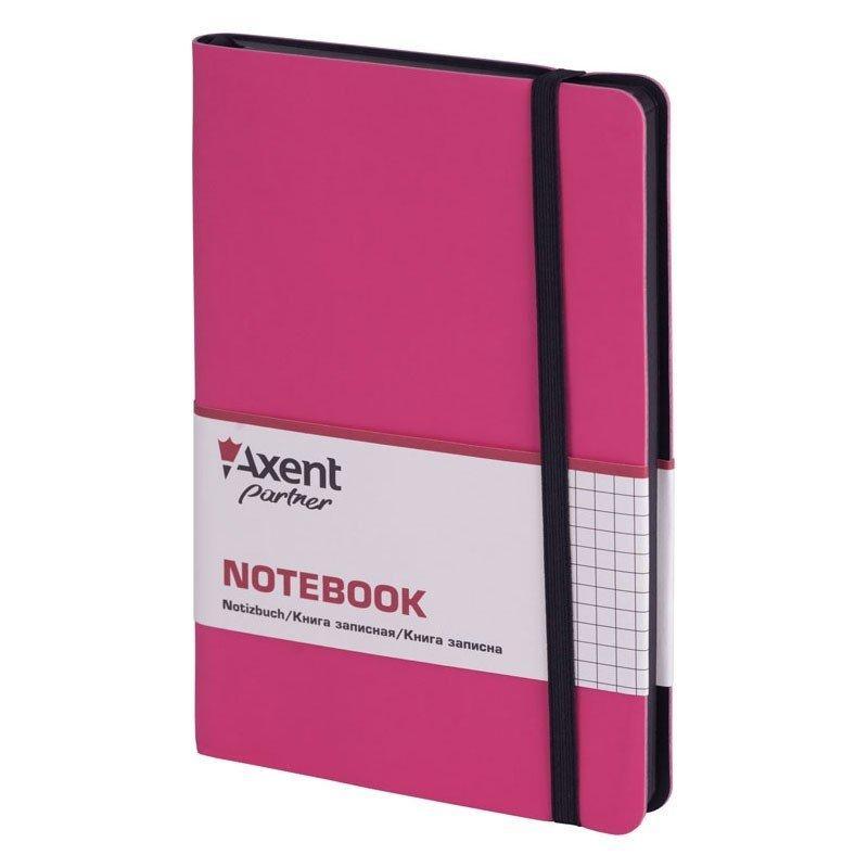 Книга записная Partner Soft, 125*195, 96л, кл, розовая