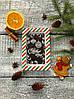 Шоколадная открытка Елочные игрушки