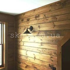 Стеновая панель 40х135-185мм, сосна