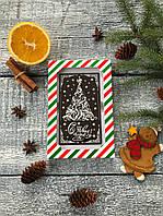 Шоколадная открытка Елочка