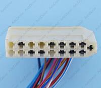 Разъем электрический 17-и контактный (52-11) б/у 369-01