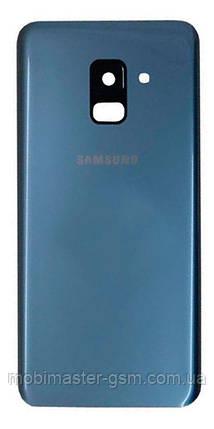 Задняя крышка Samsung A730 Galaxy A8 Plus (2018) orchid grey, фото 2