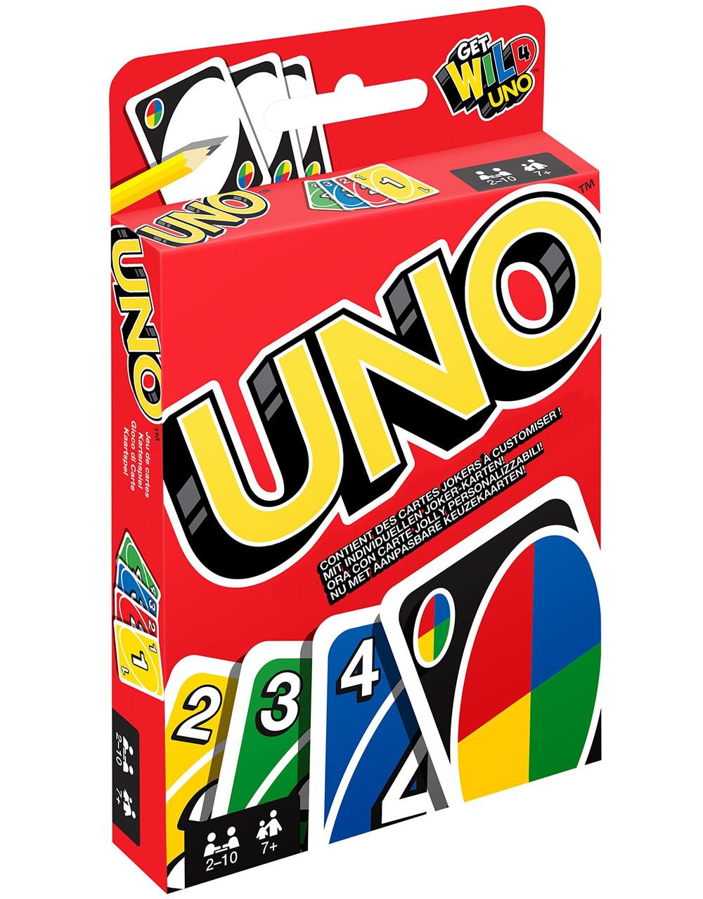 Настольная игра Uno Mattel (W2085)
