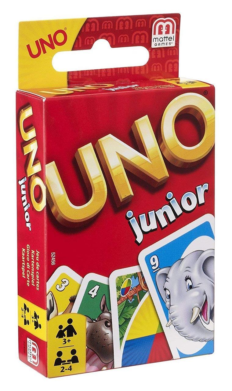 Настольная игра Mattel UNO Junior (52456)