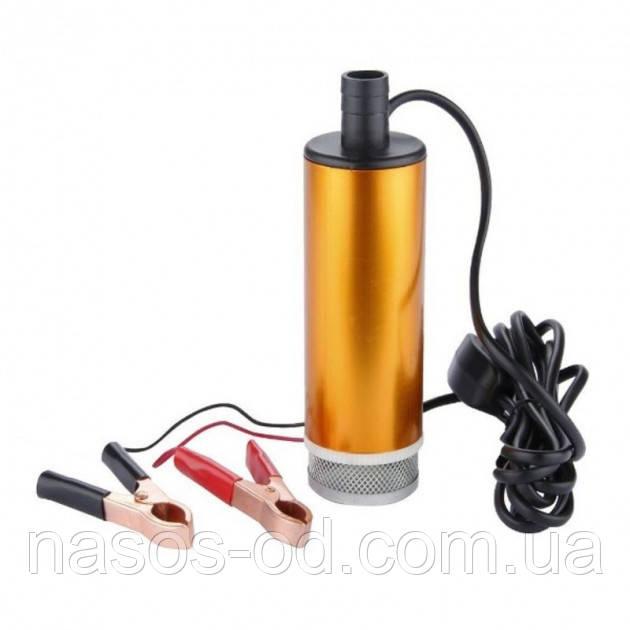 Насос для перекачки топлива Rewolt SL017 погружной 24В Hmax3м Qmax25л/мин Ø50мм