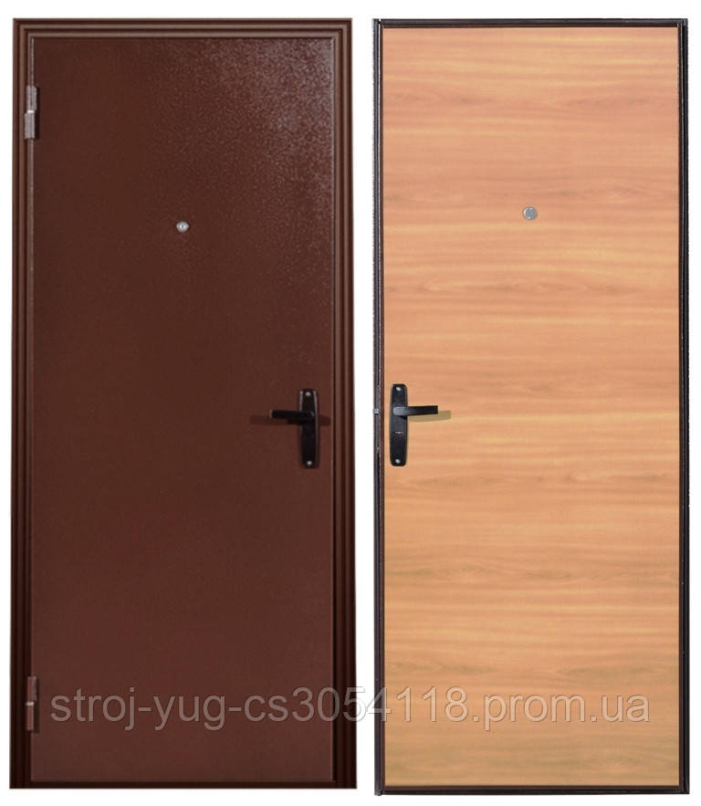 """Двери входные металлические """"Эконом Плюс"""", 850х2040"""