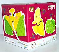 Пазл для Маленьких 6 в 1 6в1 Овощи Фрукты Продукты 2 3 4 эл. фрукти овочі ДоДо DoDo 300155 009862