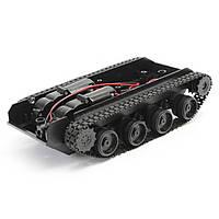 Танковое гусеничное шасси с двигателями