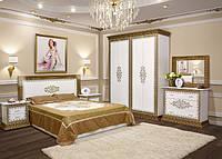 Спальня София Люкс 4Д белая (Світ Меблів)