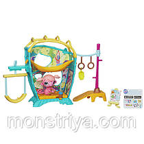 """Littlest Pet Shop Арт-студия обезьянки из серии """"Волшебный механизм"""" от Hasbro"""