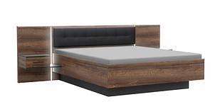 Ліжко з тумбочками з ДСП Bellevue Forte