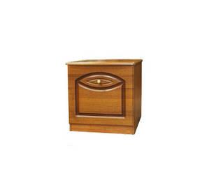 Тумбочка приліжкова з ДСП/МДФ в спальню Тіна (патина) Світ Меблів
