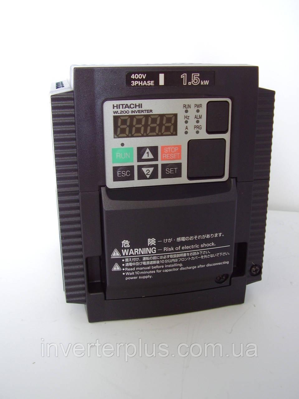 WL200-015НFE; 1,5кВт/380В. Інвертор Hitachi