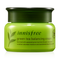 Крем для лица с экстрактом зеленого чая Green Tea Balancing Cream Innisfree