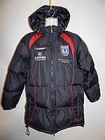 Куртка удлиненная подростковая спортивная теплая Legea  (сток)  р.42-46 026д