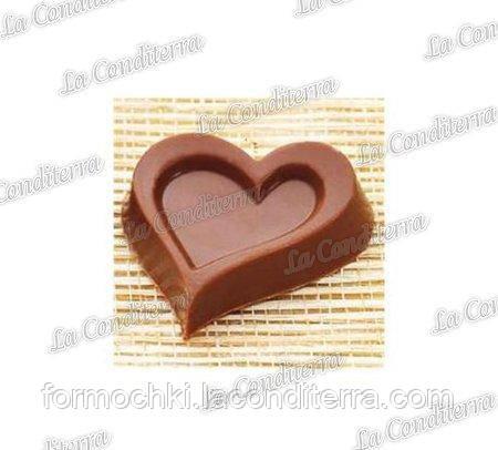 Полікарбонатна форма для шоколадних цукерок MARTELLATO MA1613 (Серце)