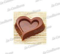 Поликарбонатная форма для шоколадных конфет MARTELLATO MA1613 (Сердце)