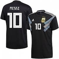 Футбольная форма Сборной Аргентины Месси (Messi) World Cup 2018 гостевая
