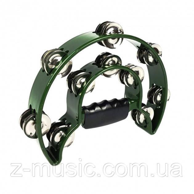 Тамбурин в форме полумесяца ATB002 Green