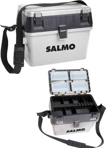Ящик зимний пластиковый SALMO 39,5х24см; h-37см