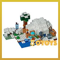 Конструкткор LEGO Minecraft Полярное иглу