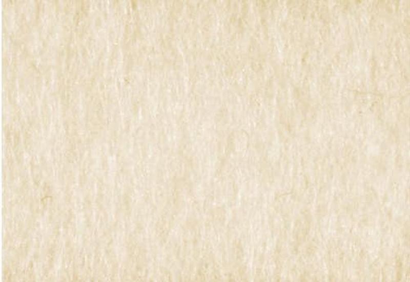 Фетр листовой (100% шерсть) 30 * 45см, Кремовый, 450г/м2, 4мм, Knorr Prandell