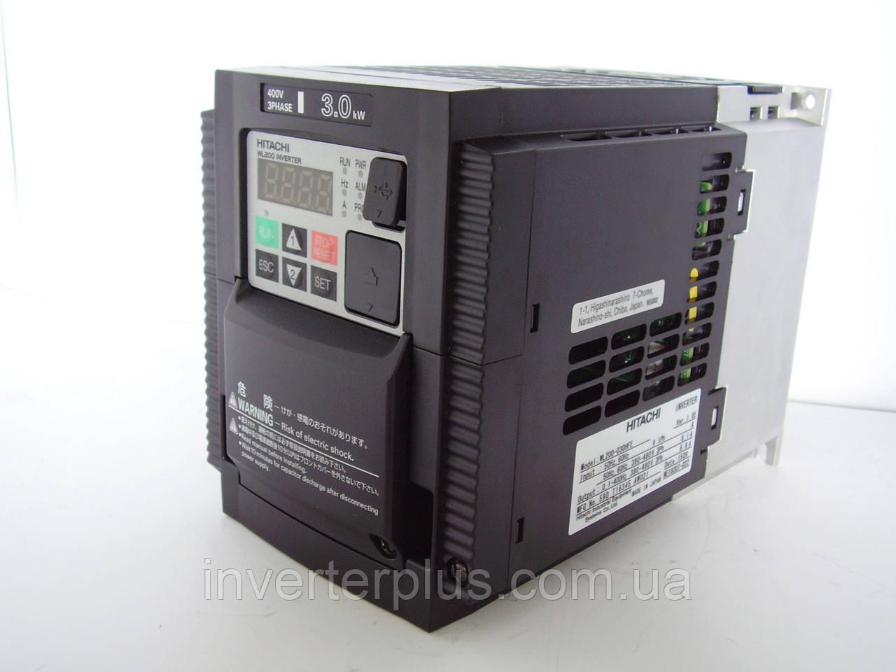 WL200-030НFE; 3кВт/380В. Частотники Hitachi