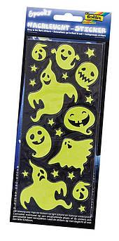 Наклейки Glow in the Dark (2 л., 10 x 23 cm), spooky