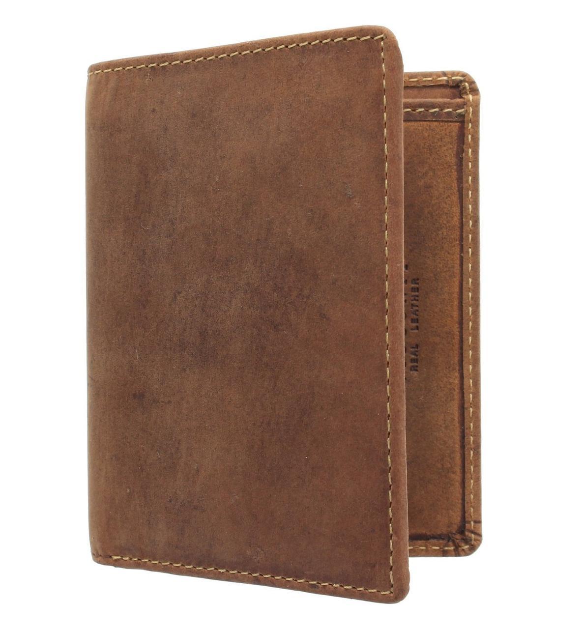 Маленький кошелек из матовой кожи Visconti 705 Oil Tan (Великобритания)