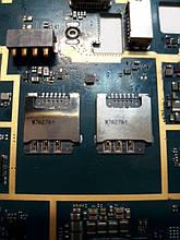 Samsung J120H сим коннектор оригинал б/у