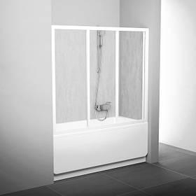 Двери для ванны раздвижные трехэлементные AVDP3 160 см Ravak