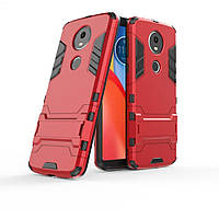Чехол для Motorola Moto E5 Plus / XT1924-1 Hybrid Armored Case красный