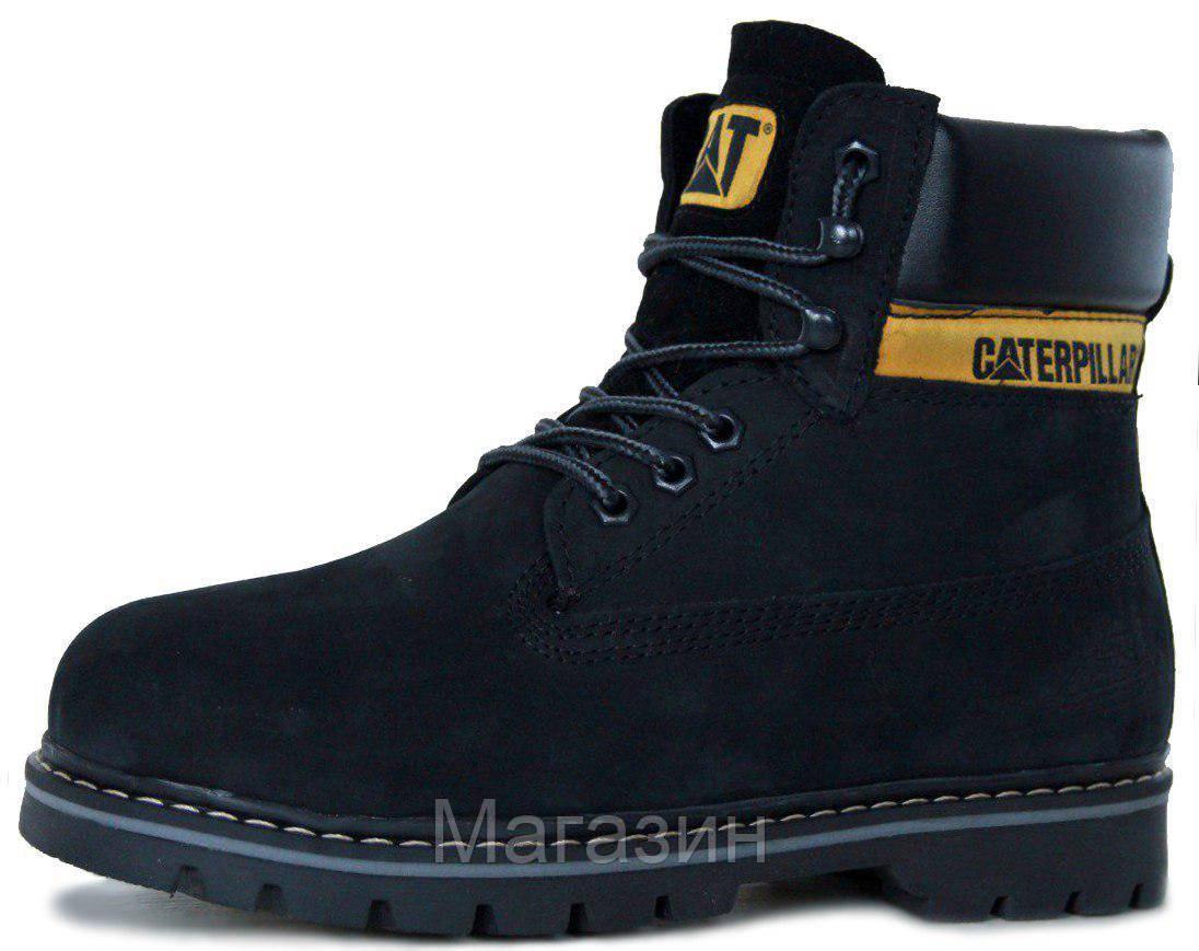 42449478 Зимние мужские ботинки Caterpillar Colorado Winter Катерпиллер Колорадо  черные с мехом - Магазин обуви New York