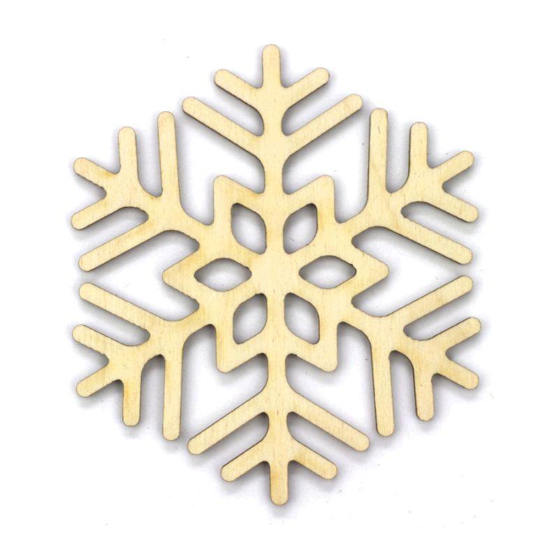 Заготовка «Снежинка 8», фанера, Д:10 см