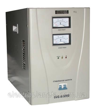 Стабилизатор напряжения сервоприводный   SVC-N-5000