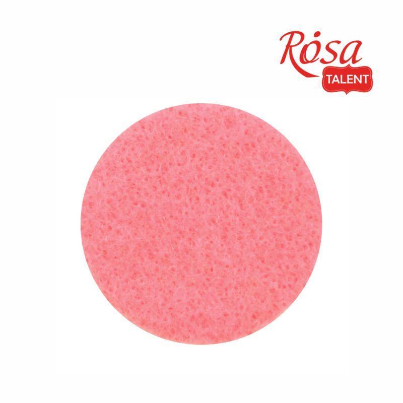 Фетр листовой (полиэстер), 21,5х28 см, Розовый пастельный, 180г/м2, ROSA TALENT