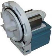 Насос (помпа) для стиральных машин на 8 защелках клемы слитно сзади