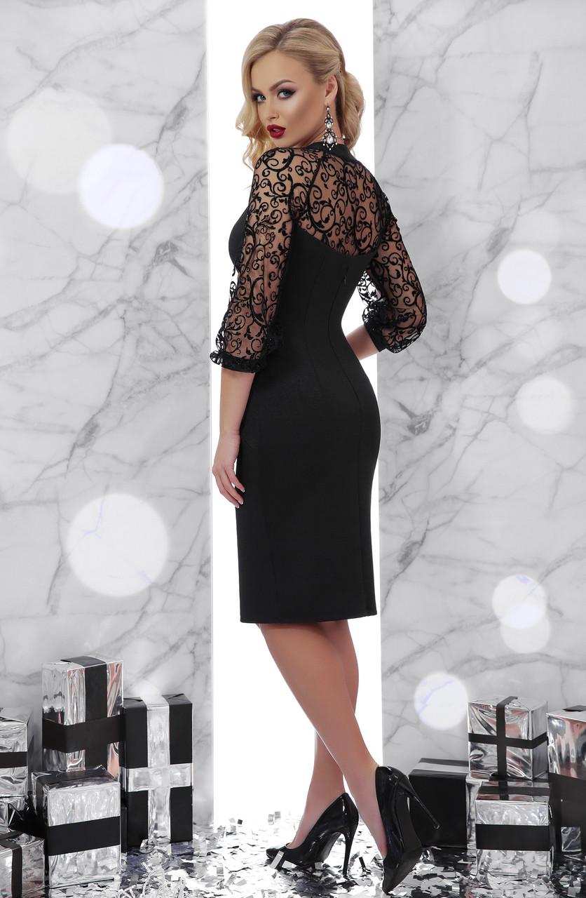 ... Нарядне чорне плаття Erika ( S 358d2ec33289b