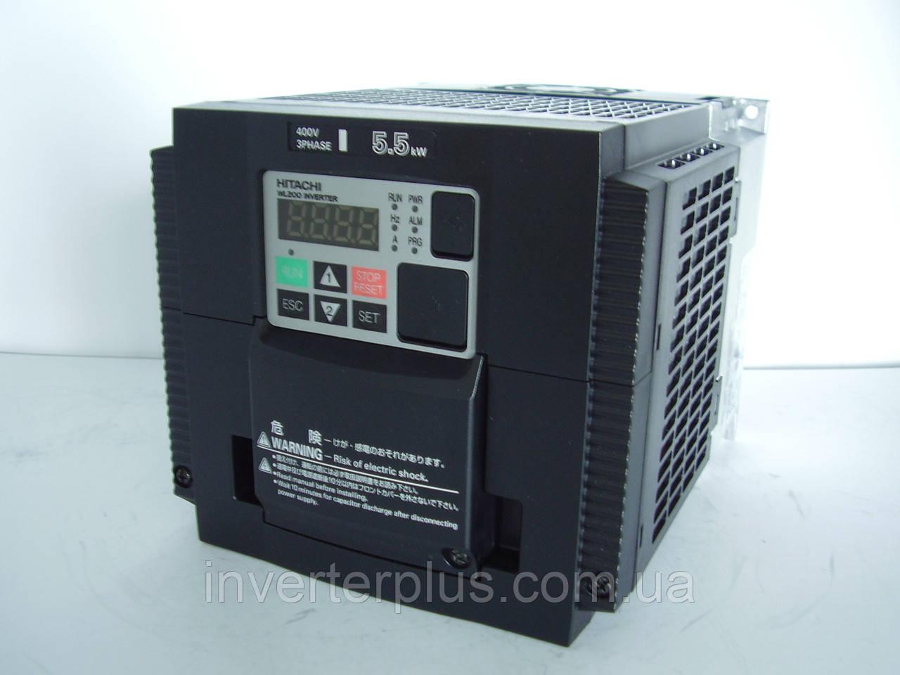 WL200-055НFE; 5,5кВт/380В. Інвертор Hitachi
