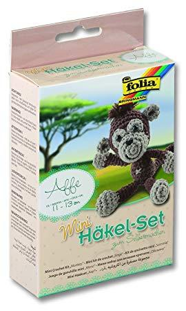Набор для вязания игрушки Mini, обезьянка, Folia